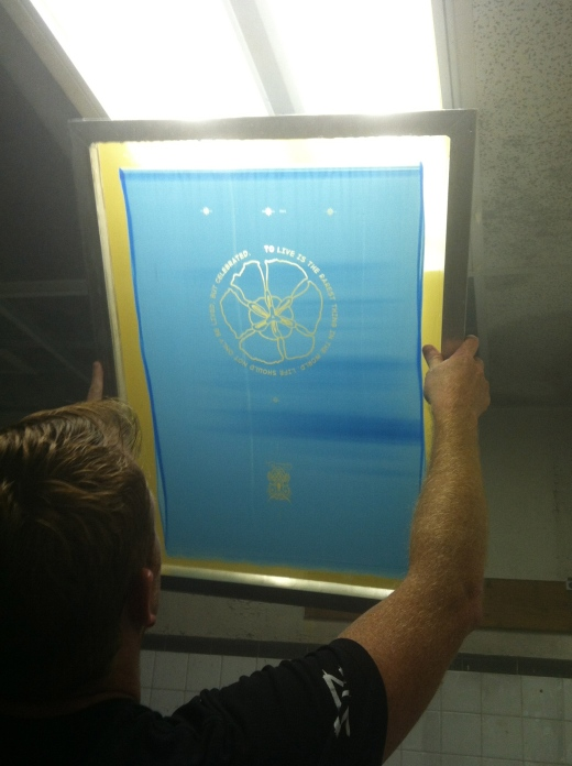 Screen printing has been around since 960 AD!